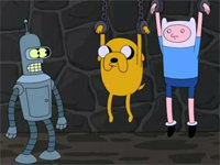 Finn & Jake Ask Bender What Time It Is