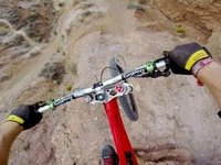 Biker Flips Over 72-Foot Canyon
