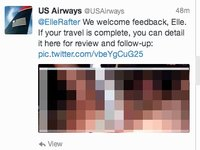 US Airways Posts Lewd Photograph on Twitter
