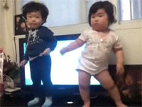 Korean Toddler Dances Up a Viral Storm