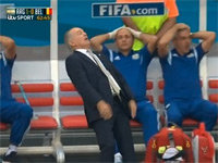 Argentina Manager's Falling Reaction Memefied