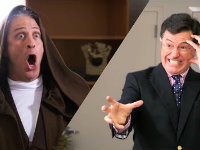 Colbert & Stewart's Star Wars Battle for Charity