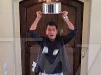 Ice Bucket Challenge: Charlie Sheen Edition