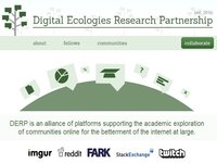 Digital Ecologies Research Partnership (DERP)