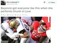 Paralyzed Football Player Tweets Beyonce Meme