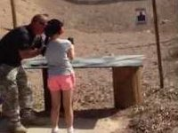 Young Girl Accidentally Shoots Gun Instructor