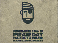 """All Hands Hoay! It's """"Talk Like a Pirate"""" Day"""