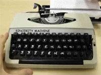 Introducing the Comic Sans Typewriter