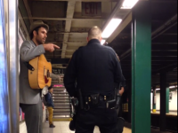 Cop Arrests Busker for Singing in the Subway