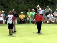 Jack Nicklaus Sinks Amazing 102 ft. Putt