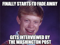 The Creator of Bad Luck Brian Revealed