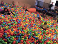 Roman Atwood's Residential Ball Pit Makeover