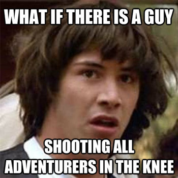 Conspiracy Keanu: Arrowed in the Knee?