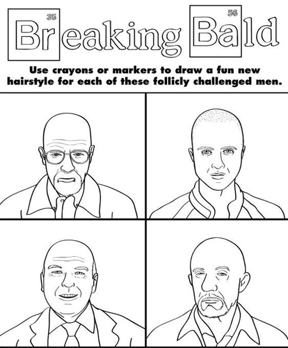 Breaking Bad: Hairstyle Makeover