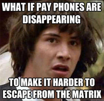 Conspiracy Keanu: Payphone Edition