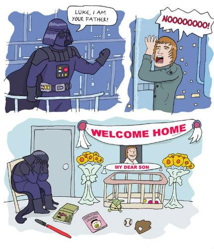 Luke's Ruined Childhood