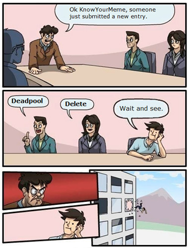 Boardroom Suggestion: KYM Edition