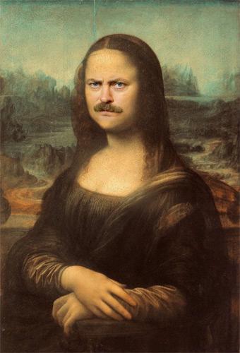 """Meet Ron """"Mona Lisa"""" Swanson"""