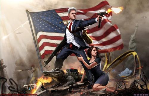 'Murica: Bill Clinton the Lady Killer