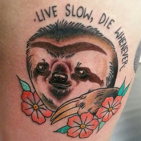The Sloth Code