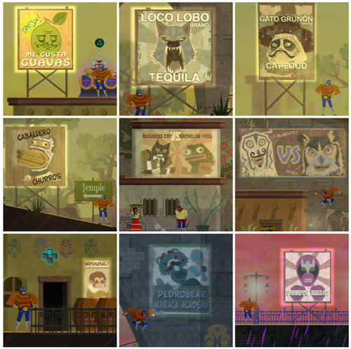 Meme References in Guacamelee!