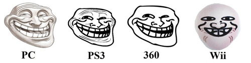 The Many Faces of Trollface