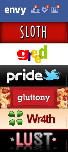 The Internet's Seven Deadly Sins