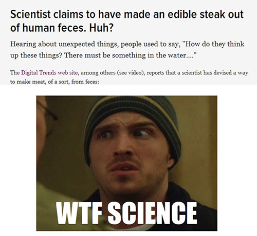 What Has Science Done?