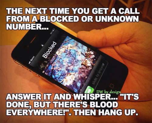 How to Answer a Call from a Stranger