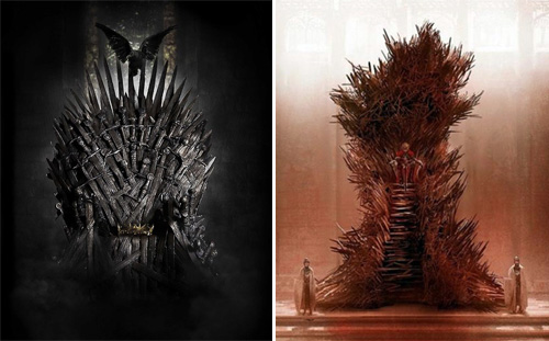 George R.R. Martin's Iron Throne