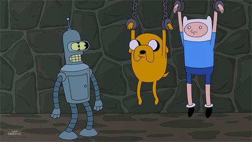 Adventure Time & Futurama Crossover