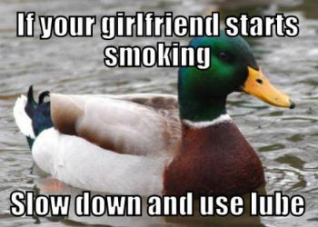 Actual Pun Advice Mallard