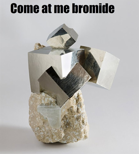 And Pyrite Was All Like...