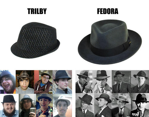 Know The Difference: Trilby vs Fedora