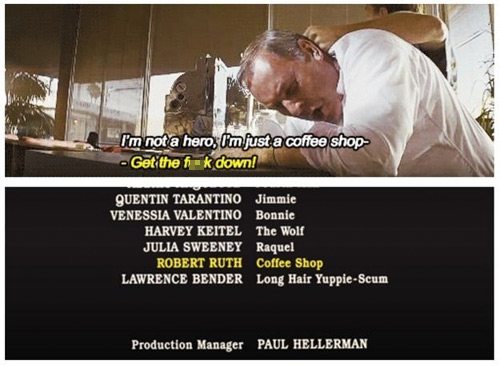 Quentin Tarantino's Credits Joke in <i>Pulp Fiction</i>