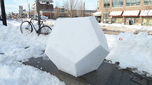 Do You Want to Build a Snow Dodecahedron?