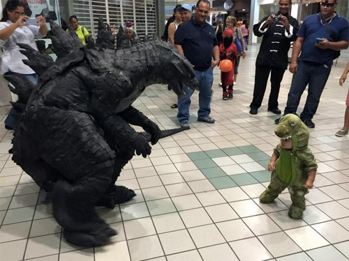 Godzilla vs. Godzilla Jr.