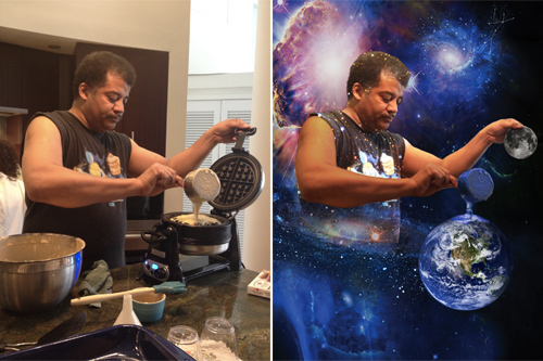 Neil deGrasse Tyson, Creator of Waffles