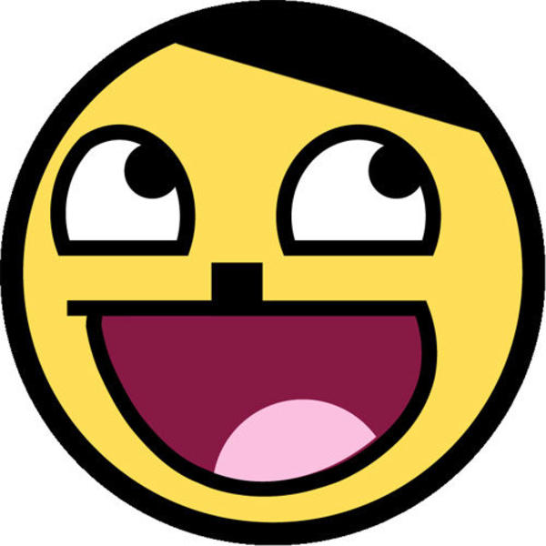 Super Excited Rage Face