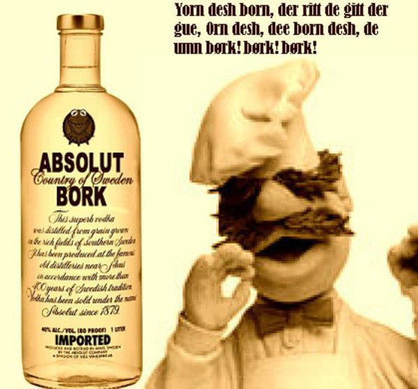 Muppet Christmas Meme: Swedish Chef (Børk Børk Børk)
