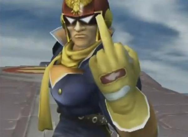Captain falcon punch gif