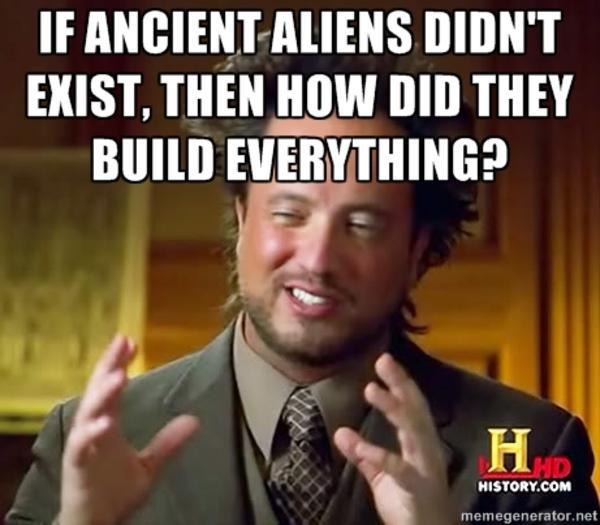 Hair is a Bird Logic | Ancient Aliens | Know Your Meme  Hair is a Bird ...