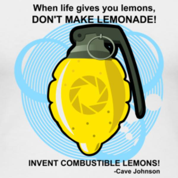 Image 162440 Cave Johnson Combustible Lemons
