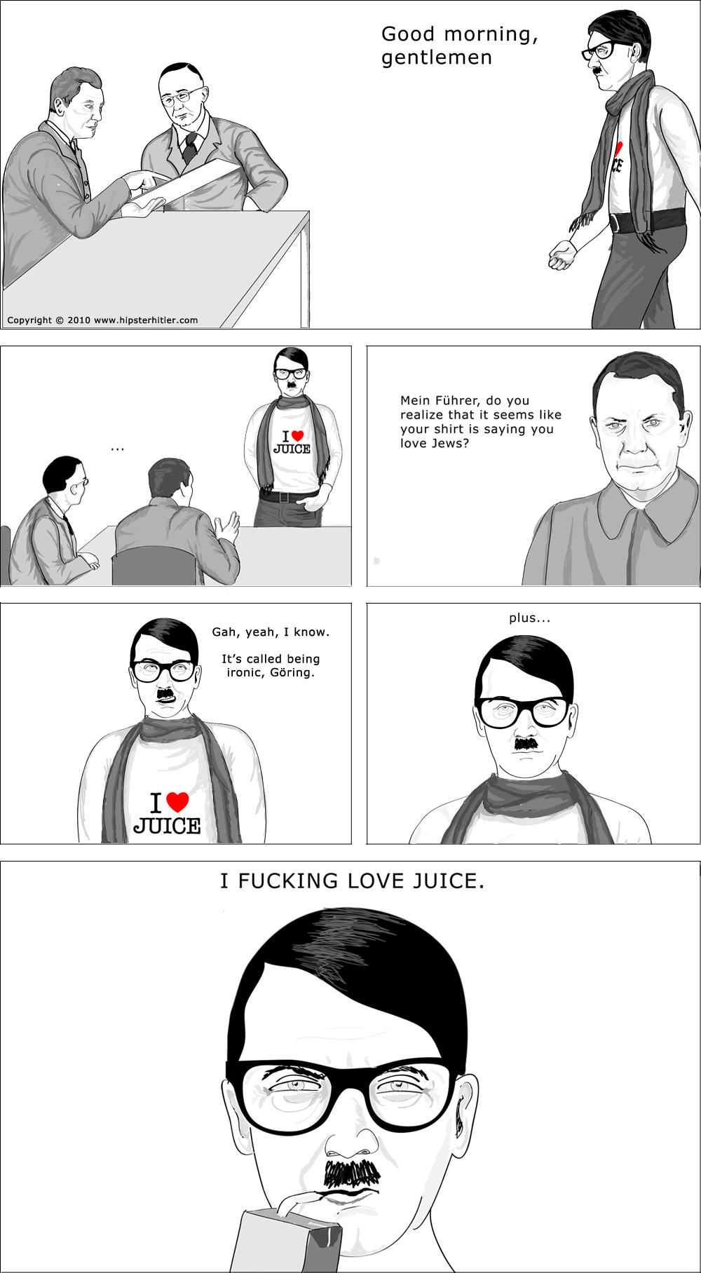 hipster hitler visits the - photo #11