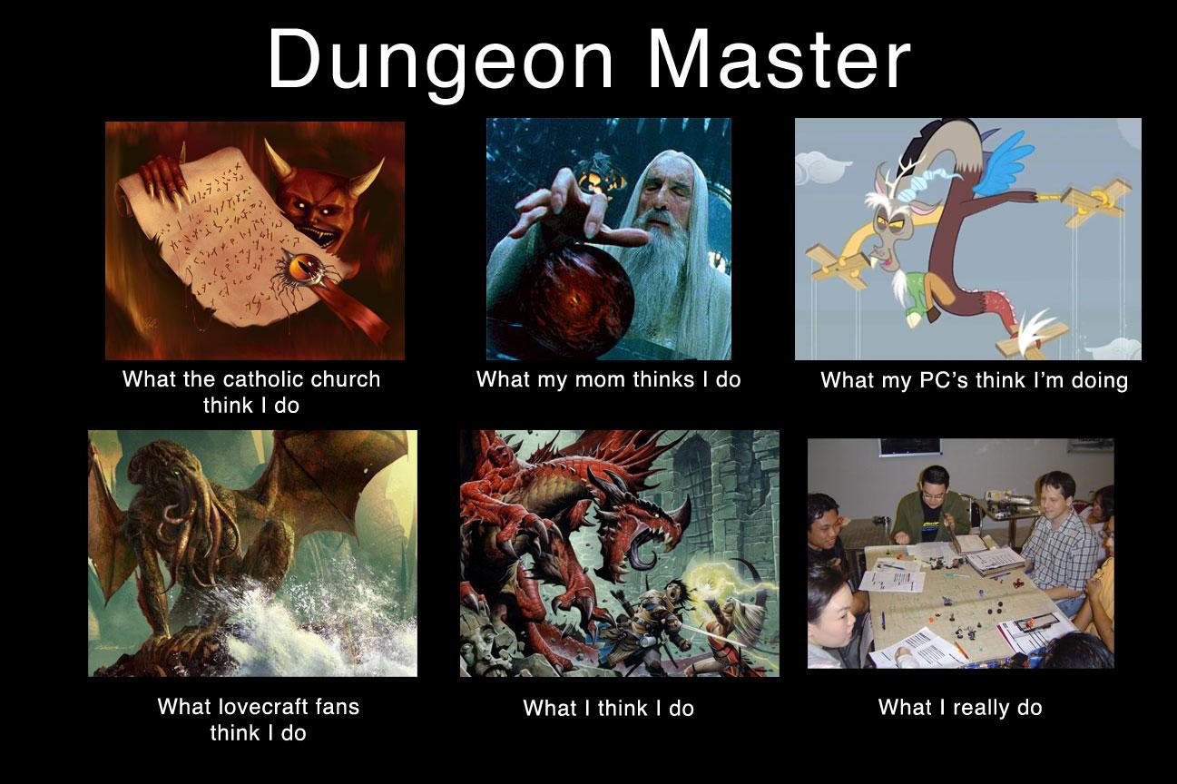Dungeon Master Meme