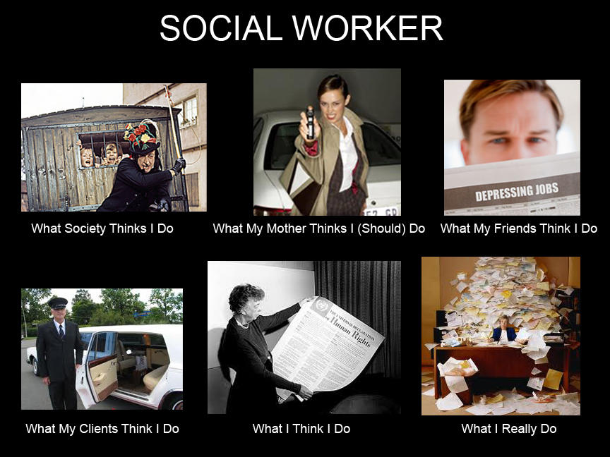 What People Think I Do / What I Really