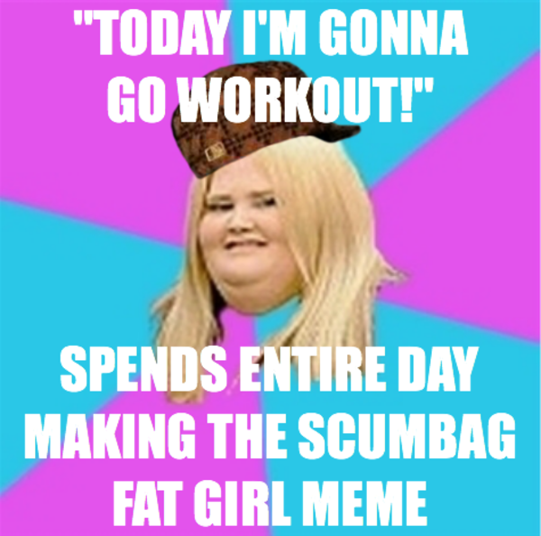 Fat girl meme dating