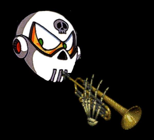 Skullman Trumpet Skull Trumpet Know Your Meme