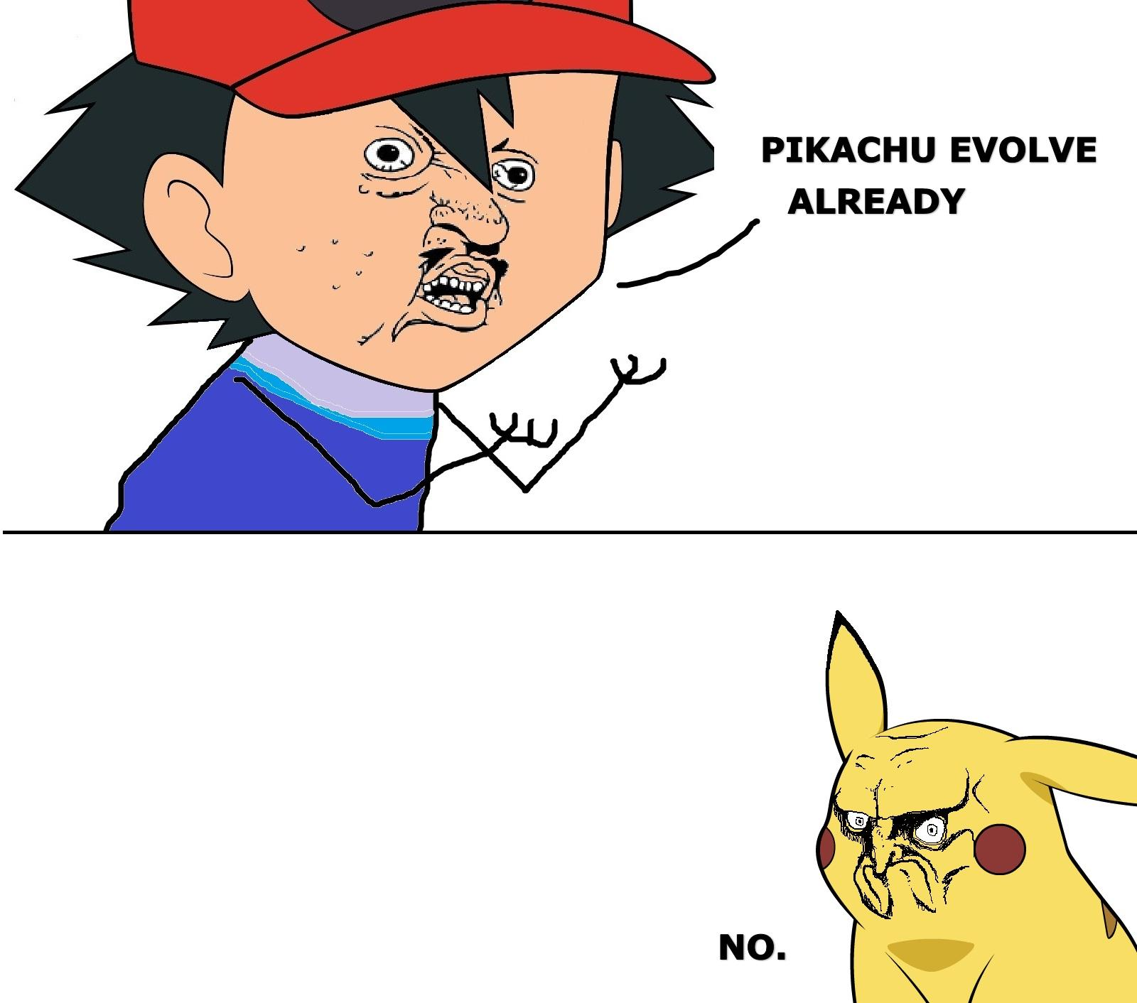 EVOLVE ALREADY | NO. Rage Face | Know Your Meme