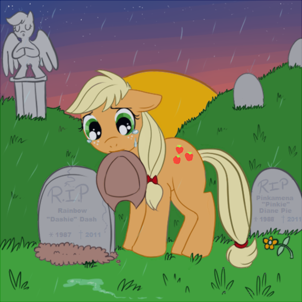 applejack firmgold lulubell sad weeping_angel weeping_pegasus score:0 rating:questionable. applejack firmgold...
